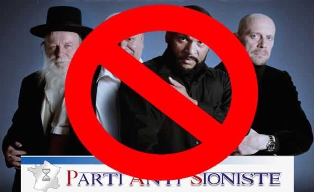 Pétition pour interdire le «Parti Anti Sioniste» et l'antisémite Dieudonné aux élections législatives !