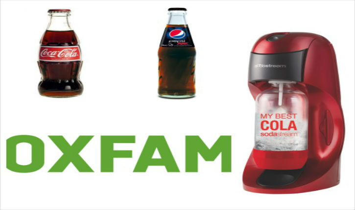 Pourquoi Oxfam se bat contre SodaStream ? Car Oxfam est financé par Coca-Cola !