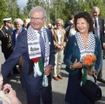 Swedish Royalty Keffiyeh Quand Malik Obama, le frère de Barack Obama, rejoignit le Hamas et déclara: «Jérusalem est à nous; nous arrivons»