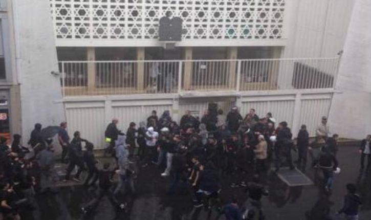 Alerte Info : des islamistes pro palestiniens assiègent la synagogue de la rue de la Roquette à Paris