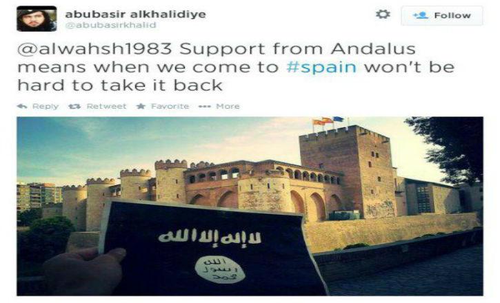 La Reconquista de l'Espagne … par l'Etat Islamique