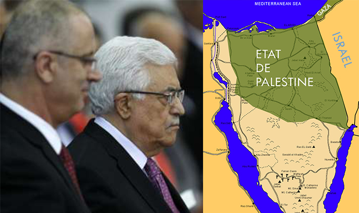 Abbas refuse un Etat palestinien dans le nord du Sinai