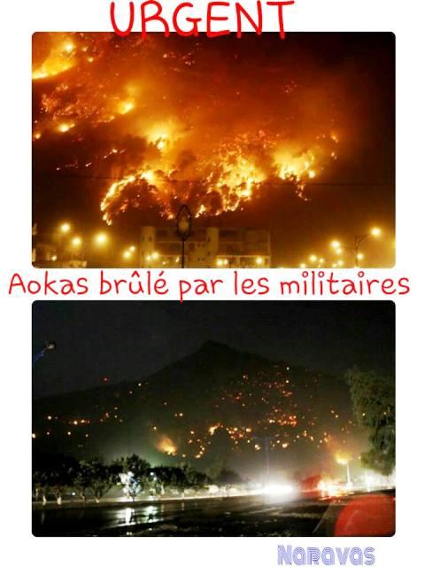 kabylie en feu