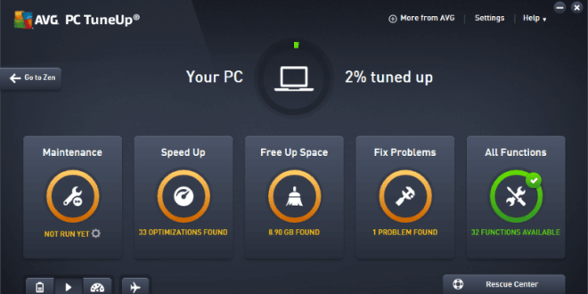 AVG PC TuneUp 2020 Activation Code+ Key And Crack [Latest]