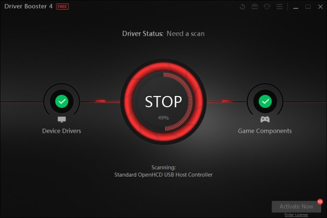 Driver Booster 4 Pro 2020 Key  With Serial Number Full Free Download