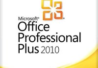 MS Office Professional Plus 2010 Product Key
