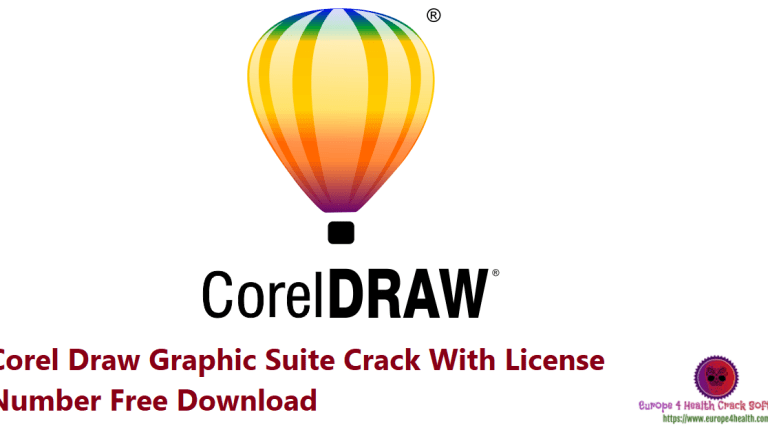Corel Draw Graphic Suite Crack With License Number Free Download