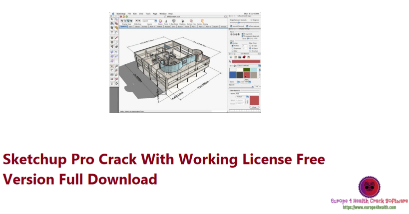 Sketchup Pro Crack With Working License Free Version Full Download