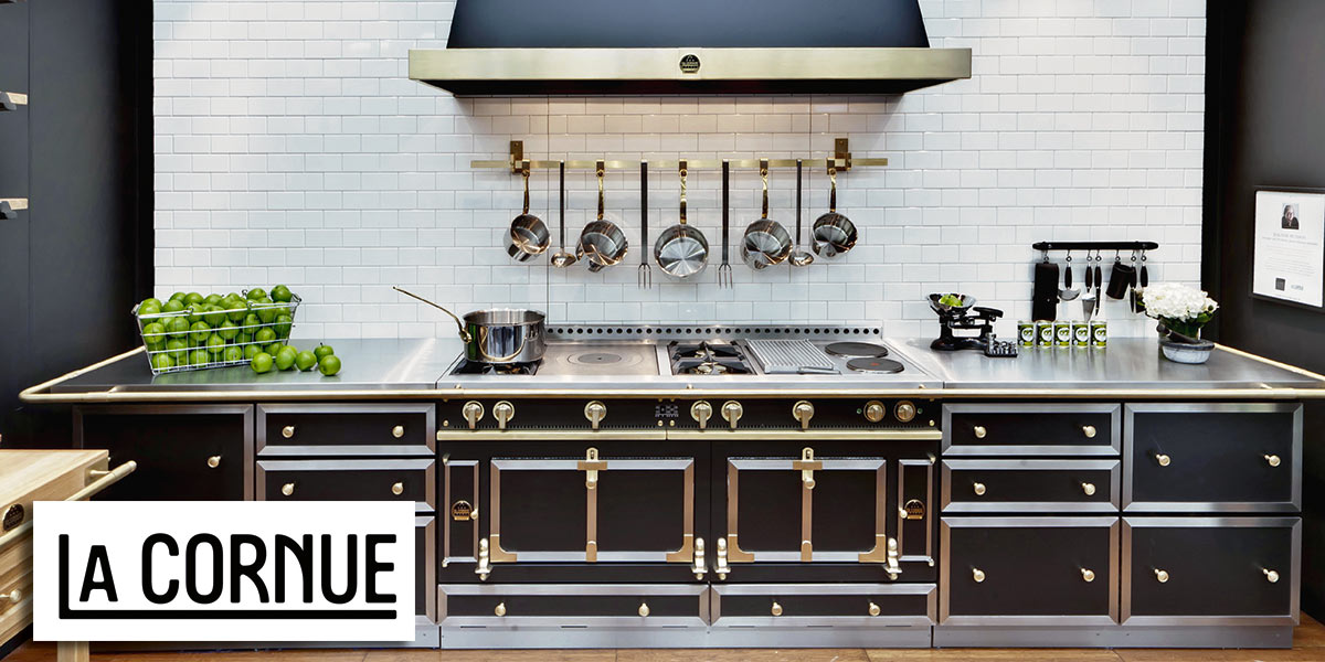 la cornue kitchen shaker style france european business s reputation is based on the use of high quality materials