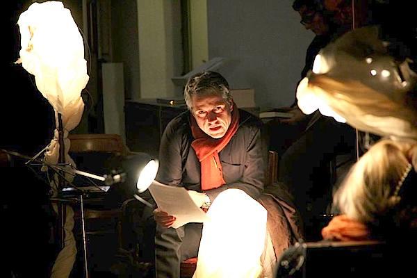 Martin Schwanda war unter anderem als Sigmund Freud bei der 1. LiteraTurnhalle im Brick-5 zu sehen. (Foto: Salon 5)