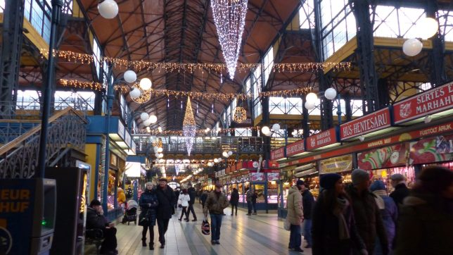 Teilansicht der großen Markthalle (c) European Cultural News
