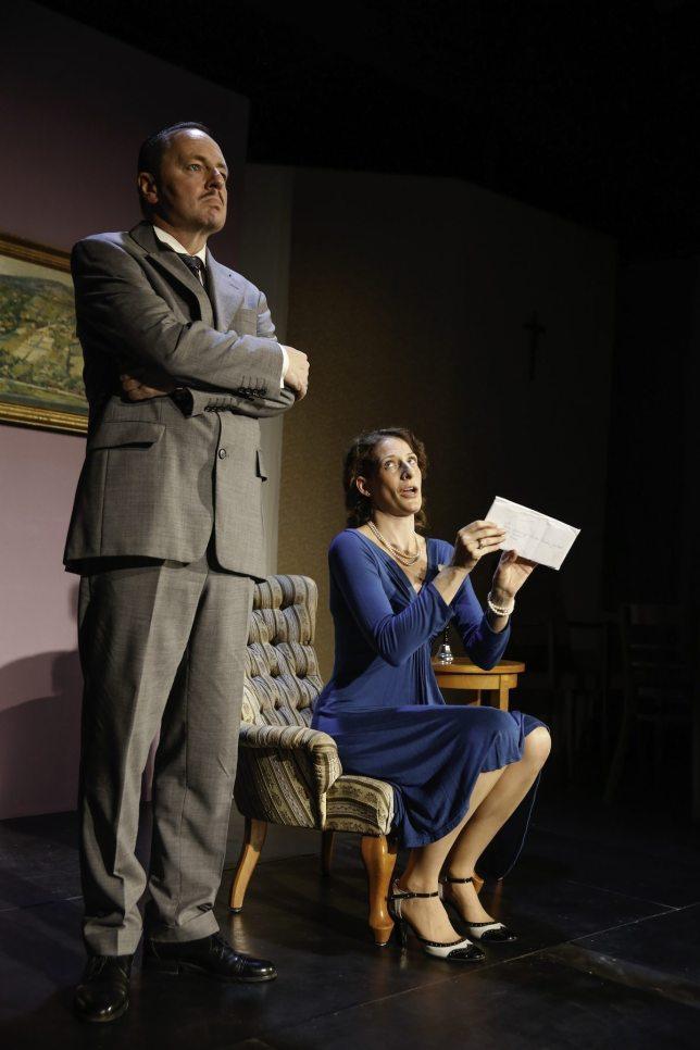 Eine blassblaue Frauenhandschrift, Theater Spielraum (c) Barbara Palffy