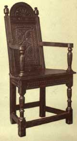 Jacobean Chairs Varieties and Ornamentation