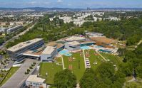 Visit the Therme Wien Hot Water Day Spa in Vienna