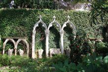 Gothic Windows Frames at Villa Ephrussi de Rothschild
