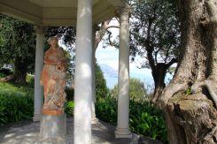 Goddess in the Rose Garden of the Villa Ephrussi de Rothschild