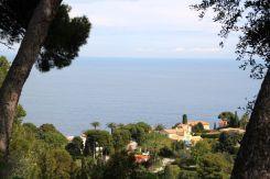 Villa Ephrussi de Rothschild views of the Mediterranean Sea