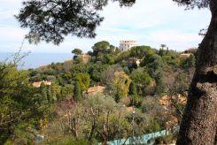Cap Ferrat views from the Villa Ephrussi de Rothschild