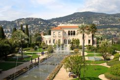 Garden View of the Villa Ephrussi de Rothschild