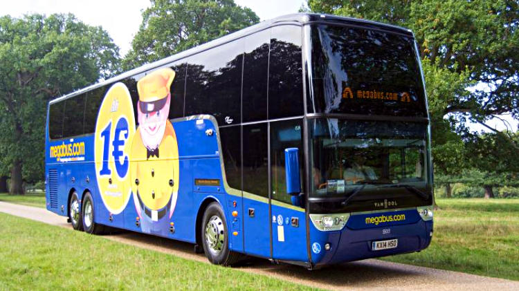 Cheap Megabus Bus Tickets and Journeys in Germany