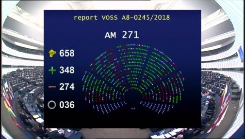 European Parliament OKs Highly Contentious EU Copyright Reform Bill