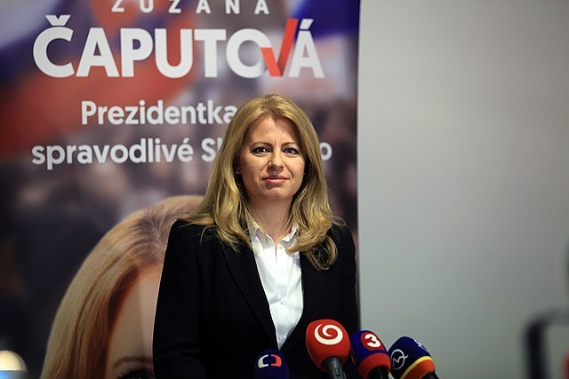Fight to End Corruption Puts Zuzana Čaputová On Course to Become President of Slovakia