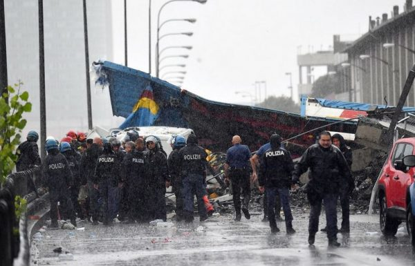 Death Toll in Genoa Bridge Collapse Reaches 39, Italy's Liguria in 12-Month Emergency