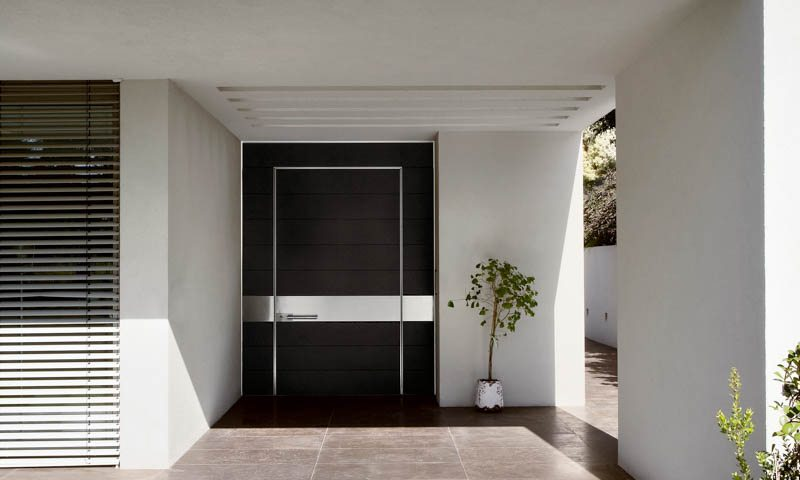 Synua Modern Front Doors Exterior Doors  European