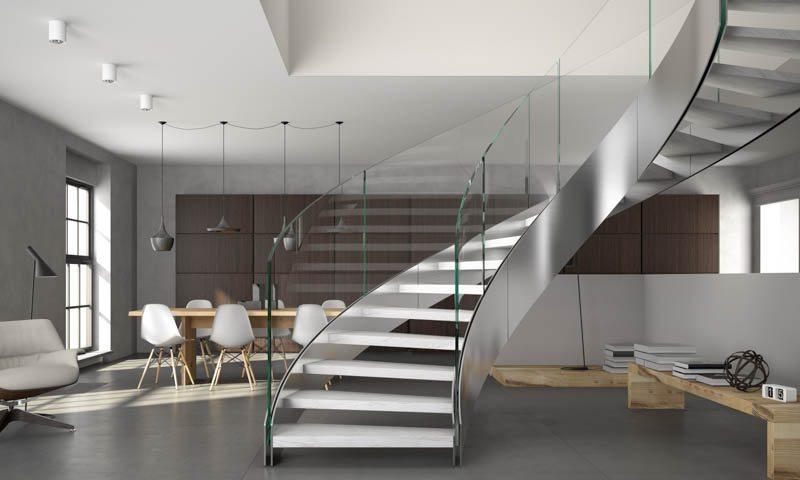 Custom Staircase Design  European Cabinets  Design Studios