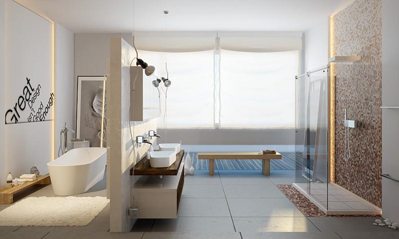 kitchen cabinets.com retro tile backsplash 12 must-have features for every modern master bathroom | ecds