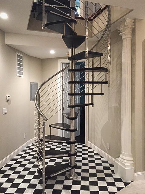 Spiral Stairs  European Cabinets  Design Studios