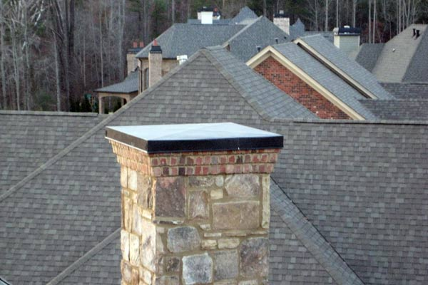 Fabrication of custom made chimney covers in Atlanta for prefabricated metal and masonry