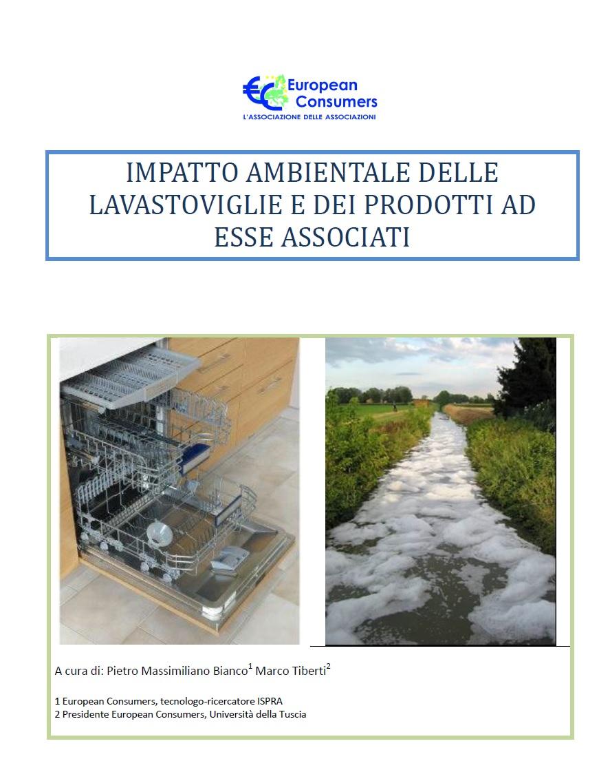 """Pubblicato il libro """"Impatto ambientale delle lavastoviglie e dei prodotti ad esse associati"""""""