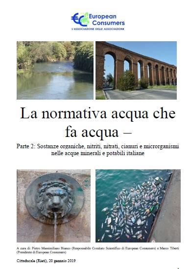 La normativa acqua che fa acqua – Parte 2
