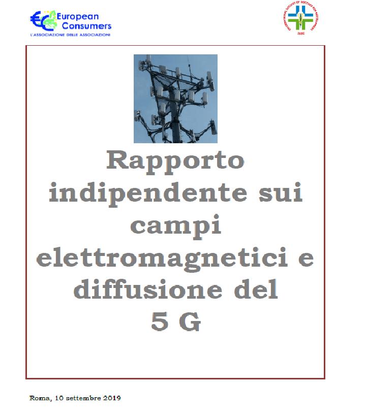 Comunicato Stampa: Rapporto ISDE – European Consumers sui campi elettromagnetici e i rischi connessi alle nuove tecnologie