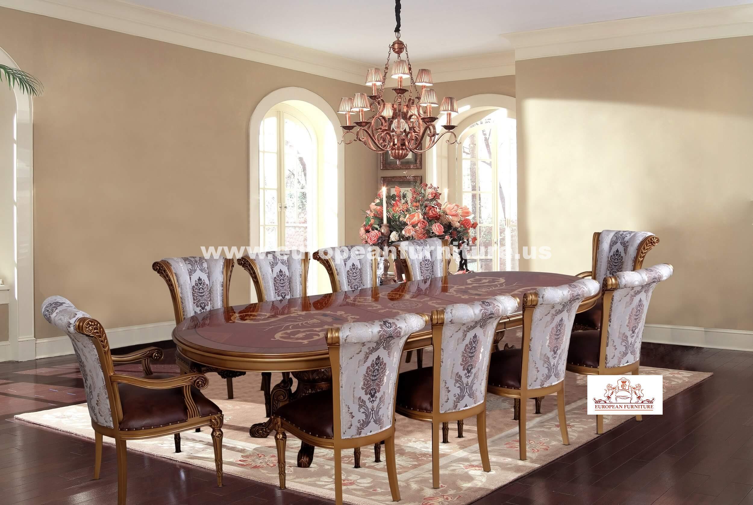 Maggiolini Luxury Dining Set
