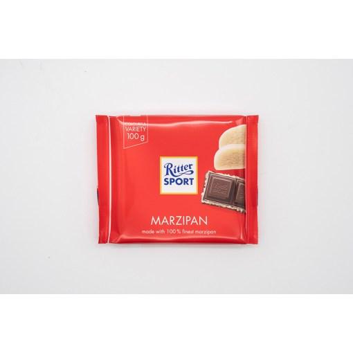 Ritter Sport Dark Chocolate Marzipan 100g