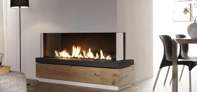 Bidore 140 by Element4  Modern Corner Fireplace  Direct