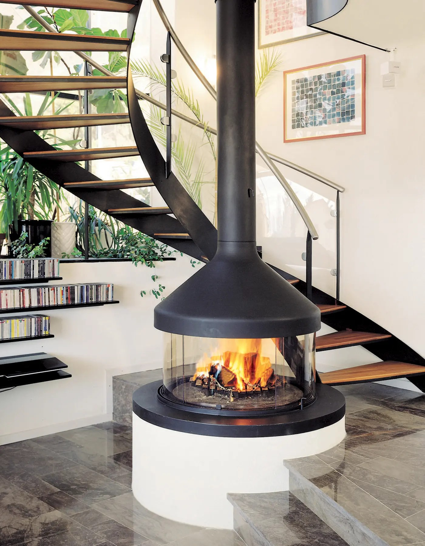 Meijifocus by Focus Fires  Central Wood Fireplace