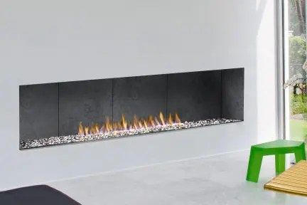 H Series Modern  VentFree  OpenFace  SeeThrough Gas Fireplace