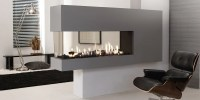 Lucius 140 Room Divider by Element4 | Penninsula Fireplace