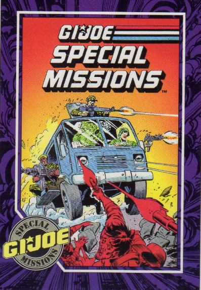 Impel Trading Card #85 - Marvel G.I.Joe Special Missions #3