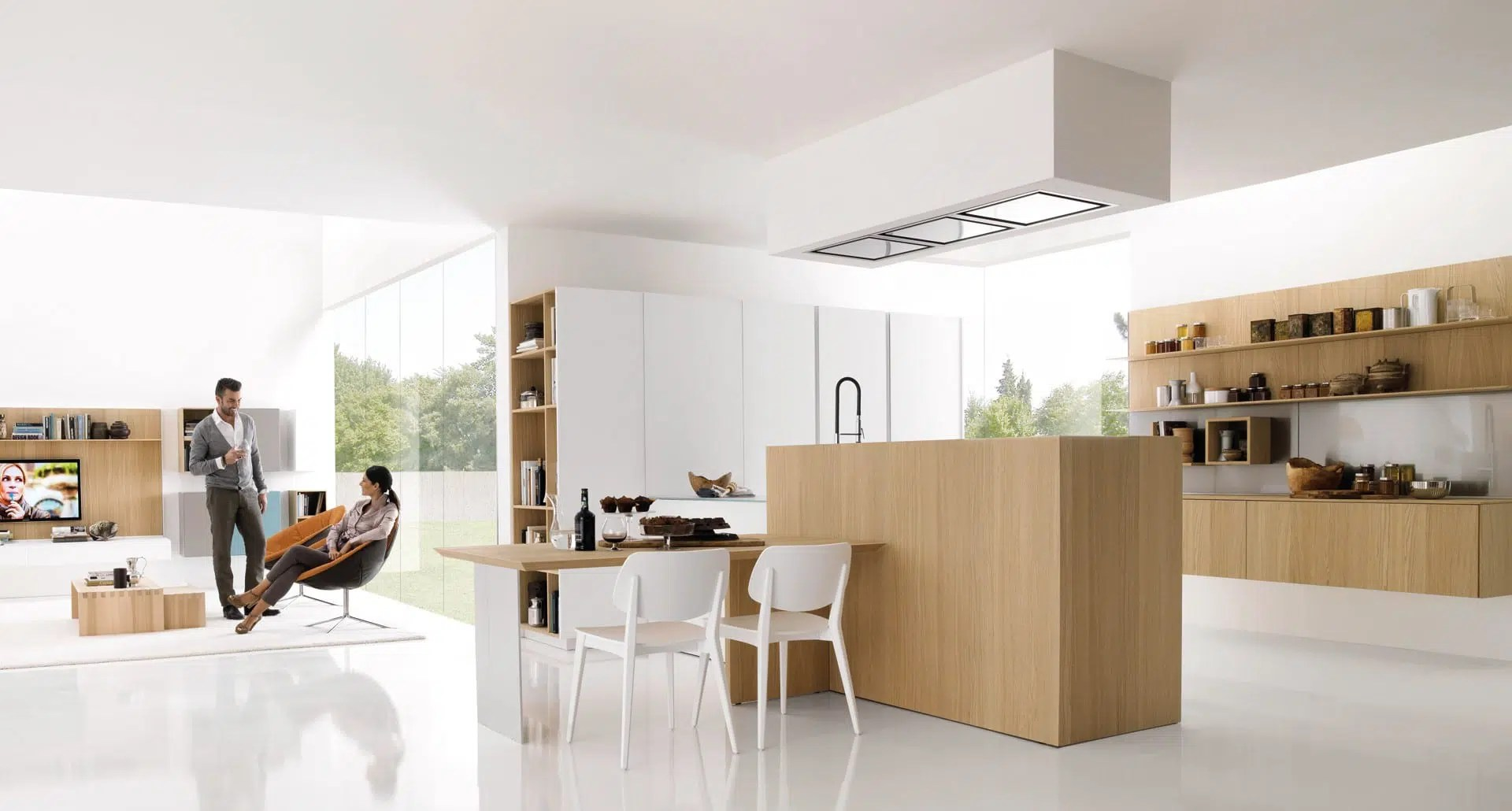 center island kitchen table how to clean grease from cabinets 15 amazing modern dining rooms european