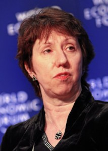 Baroness Catherine Ashton, High-Representative of the European Union for Foreign Affairs and Security Policy