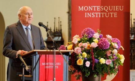 De Klerk calls for more European involvement in Africa