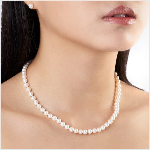 Euro Pearls Freshwater Pearl Necklace