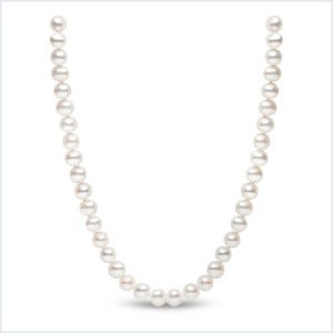Euro Pearls 7mm Freshwater Pearl Necklace