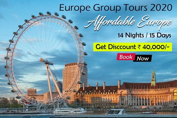 Europe Tour Package Itinerary