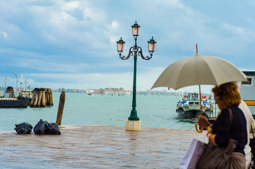 A Lamp Post in Venice