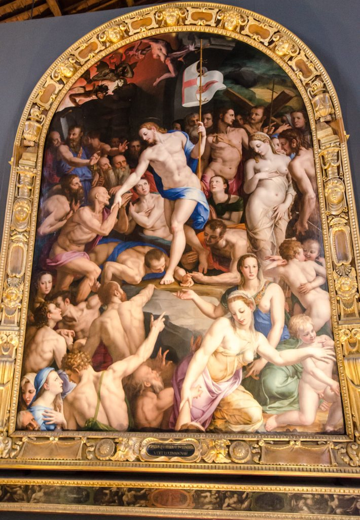 Descent of Christ into Hell by Agnolo Bronzino
